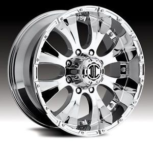 2CRAVE NX 2 Chrome Wheels Black Rims Ford F 150 Expedition 5 Lug 5x135 Blow Out