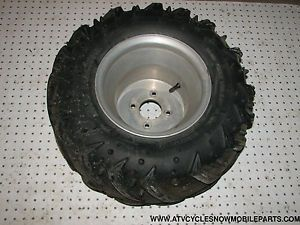 Sand Tires Unl Mud Machine 22x12x10 Tire on Aluminum Wheel 4 4