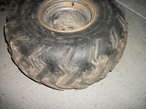 Honda 1986 TRX250 Utiltiy TRX 250 Rear Rim Wheel 25x12 9 ITP Blackwater Tire