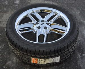 "Ford Edge 20"" Chrome Wheels Rims Tires 2011 2012 2013"