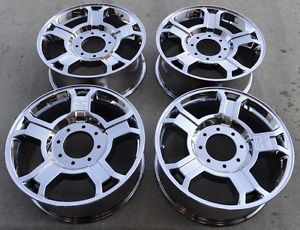 "20"" Ford F250 F350 Harley Davidson PVD Chrome Wheels Rims 2008 2009 2010 3691"