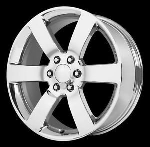 "20"" x 8"" Wheel Replicas V1166 Trailblazer SS Chrome 6x132 6x5 6x127 Wheels Rims"