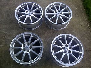 Set of 4 Used 17x7 inch Enkei Alloy Wheels Rims