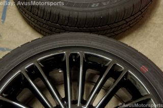 "2014 Ford Fusion 18"" Factory Wheels Tires Black Chrome 2013 Focus Taurus"