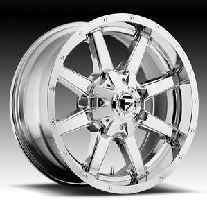 18 inch 18x9 Fuel Maverick Chrome Wheel Rim 6x135 F150 Navigator Expedition