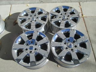 "18"" Ford F150 Truck F150 Expedition Chrome Factory Wheels Rims 2009"