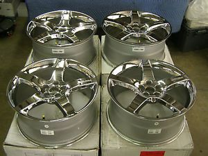 2005 2013 Ford Mustang Roush Chrome Wheels 2006 2007 2008 2009 2010