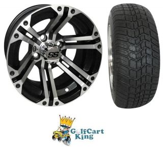 "ITP SS212 Low Profile Golf Cart 12"" Wheel Tire Combo"
