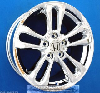 "Honda Civic SI 17 inch Chrome Wheel Exchange New 17"" Rims"
