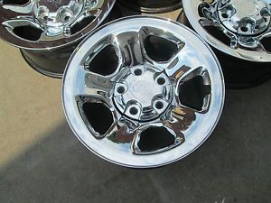 "17"" Dodge RAM Durango 1500 Factory Chrome Wheels Rims"