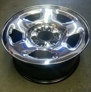"17"" Ford Chrome Clad Steel Wheel F150 Expedition"