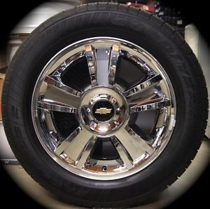 New Chevy Silverado Tahoe Suburban Avalanche Chrome Factory 20 Wheels Rims Tires