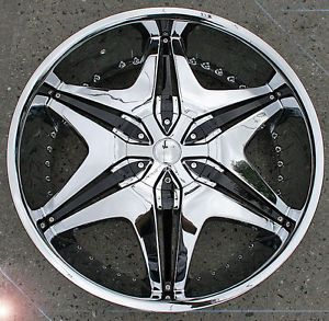 "RVM 712A 20"" Chrome Rims Wheels Mercedes ML320 S500 SL"