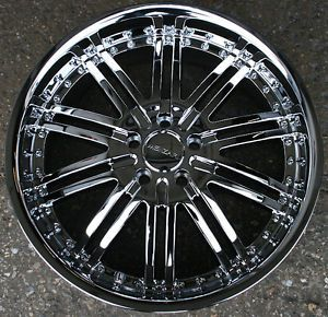 "RVM Z08 20"" Chrome Rims Wheels Cadillac cts STS DTS GM"