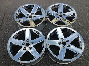 "Dodge RAM Pickup 1500 2500 Chrome Sport 20"" Rims Wheels 5x5 5"" Used RARE"