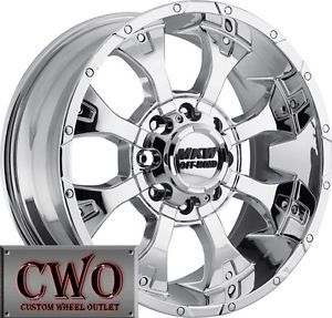20 Chrome MKW M85 Wheels Rims 8x170 8 Lug Ford F 250 Super Duty Excursion