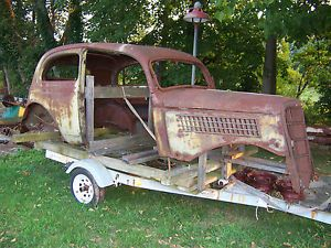 1935 Ford 2 Door Sedan Project Car