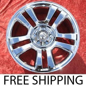 "Set of 4 New Chrome 22"" Ford F 150 Harley Davidson Wheels Rims 3645 Exchange"