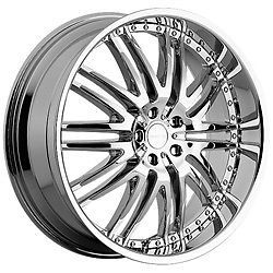 22 inch Menzari Z04 Chrome Wheels Rims 5x112 45 Audi Q5 Mercedes ml 350 500