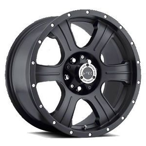 "17"" Assassin Black Wheels 32"" Toyo AT2 Tires 6x5 5 6 Lug Chevy GM Nissan Truck"