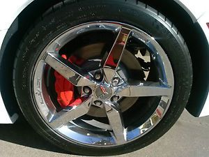 "2014 Corvette Stingray 18"" 19"" Factory Wheels Chrome Rims Set Tires Set"