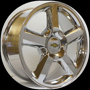 Chevy Tahoe Suburban Avalanche Silverado LTZ Chrome 20 in Wheels
