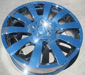 "New 19"" Factory Mercedes Benz GLK350 C300 C350 Chrome Wheels Rims Set of 4"