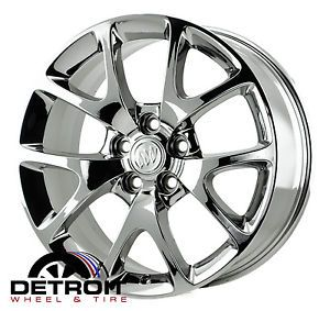 Buick Regal PVD Bright Chrome Wheels Factory Rim 4108 Exchange 2011 2013