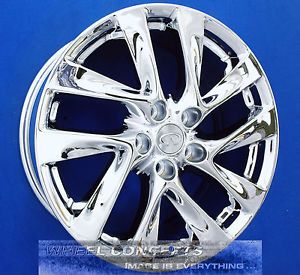 Infiniti JX35 18 inch Chrome Wheels Exchange JX 35 New 2013