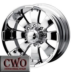 "18"" 6 Lug Chrome Wheels"