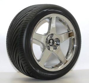 AFS 94 04 Mustang 03 Cobra Wheels Tires Chrome 18 10 5