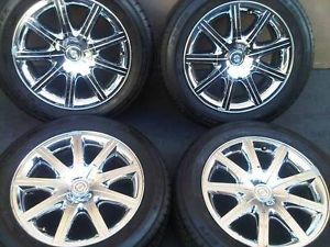 "18"" Chrysler 300 C Factory Wheels Tires Chrome Rims 1EP23TRMAA"