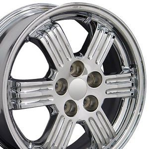 "17"" Chrome Eclipse Wheels 17 x 6 5 Set of 4 Rims Fit Mitsubishi"