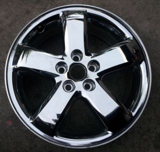 "17"" Pontiac G6 Rim Factory Chrome Clad Wheel"