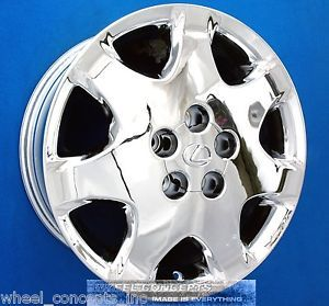 Lexus LS430 17 inch Chrome Wheel Exchange LS 430 New OE