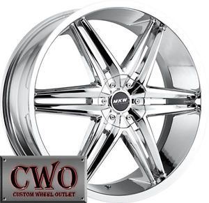 17 Chrome MKW M106 Wheels Rims 5x100 5x114 3 5 Lug Celica Eclipse Altima Maxima