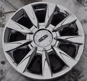 "Lincoln MKZ 17"" Used Chrome Wheel Rim 2010 2011 2012"