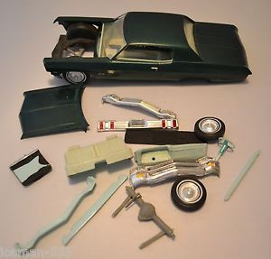 1970 70 Chevy Impala Built Model Car Kit Junk Parts