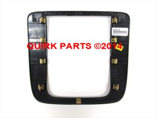 2008 2013 Chevrolet GMC Metal Instrument Panel AC Radio Bezel 25807746