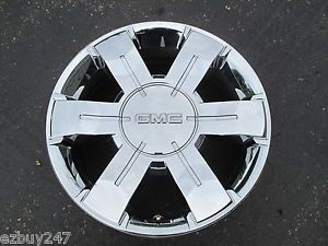 "19"" GMC Terrain Factory Original Chrome Clad Wheel Rim 5510 072301"