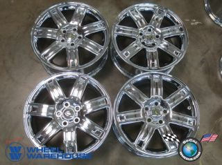 "Four 06 09 Range Rover HSE LR3 Factory 19"" Chrome Wheels Rims 72198 Outright"