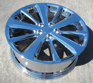 "Exchange Your Stock 4 19"" Factory Toyota Highlander Hybrid Chrome Wheels Rims"