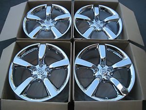 "18"" Nissan 350Z Factory Chrome Wheels Maxima Altima G35 GS430 GS400 18 19 20"