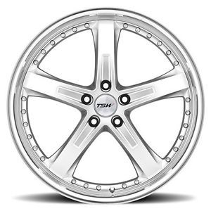 "18"" TSW Jarama Chrome Wheels Rims Fit Mercedes C230 C280 C350 C55 AMG W203"