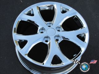 4 07 09 Mazda 3 6 5 Factory 17 Chrome Wheels Rims