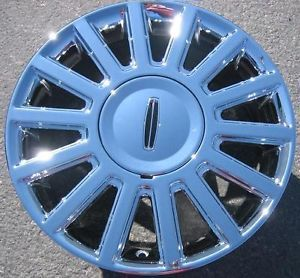 "New 17"" Factory Lincoln Towncar Chrome Wheels Rims Crown Victoria Set of 4"