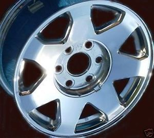 "1 Wheel 17"" Factory Chrome Cadillac Escalade Ext ESV Wheel 2002 2006 4575"