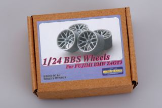 1 24 BBs Wheels for BMW Z4 GT3 for Fujimi Kit