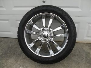 "Toyota Tundra 22"" KMC Skitch Nitto Terra Grappler Wheels Tires Rims"