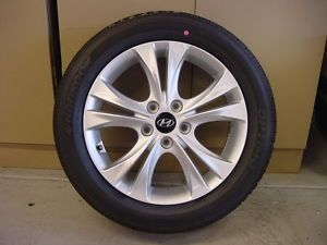 "Hyundai 2013 Sonata GLS 17"" inch Hankook Optimo Tire Wheels Tires"